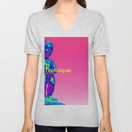 NewOrder Manneken Pis Technique Unisex V-Neck