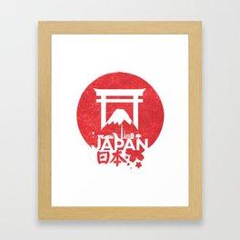 Japan in one Framed Art Print