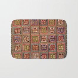 Azeri Verneh  Antique Karabagh Caucasian Rug Print Bath Mat