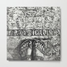 Art Beneath Our Feet Project - Gotland Metal Print