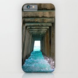 Juno Beach Ocean Pier iPhone Case