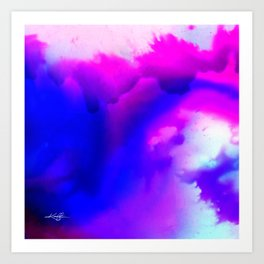 Abstract Bliss 1 by kathy Morton Stanion Art Print