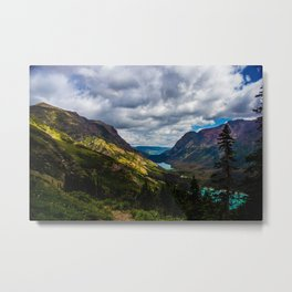 The valley and beyond Metal Print