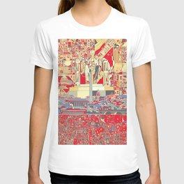 washington dc city skyline T-shirt