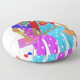 Overalls Floor Pillow