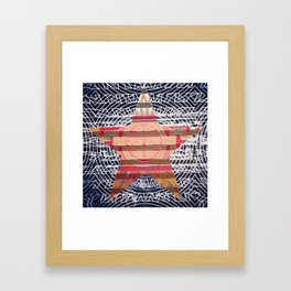China Star Framed Art Print