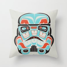Skull Warrior - Alliance Is Rebellion - Stormtrooper,  Throw Pillow