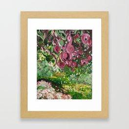 Out of the Garden Framed Art Print