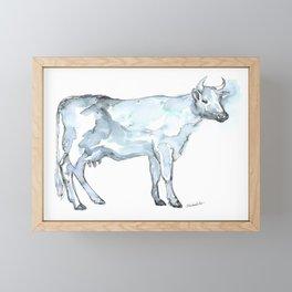 Cow Framed Mini Art Print
