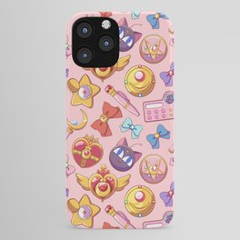 magical girl lover sailor moon pattern iPhone Case