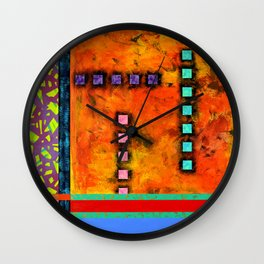 Rusted Again Wall Clock