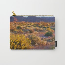 Wildflower Meadow at Joshua Tree National Park Carry-All Pouch