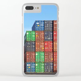 minus one Clear iPhone Case