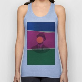 Magritte Unisex Tank Top