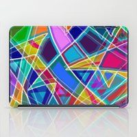 stained glass iPad Cases featuring Stained Glass by gretzky