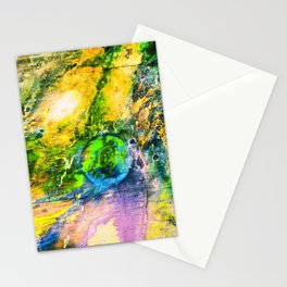 My Sister lives On The Large Green Planet Stationery Cards