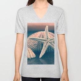 seashells 4 Unisex V-Neck