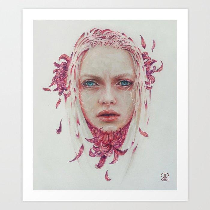 Coraje Art Print