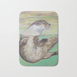 Playful River Otter Bath Mat