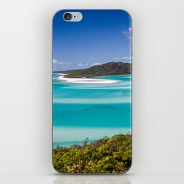 Blue Paradise Whitehaven Beach the Whitsunday Islands iPhone Skin