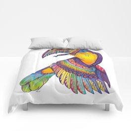 Oaxacan Toucan Comforters