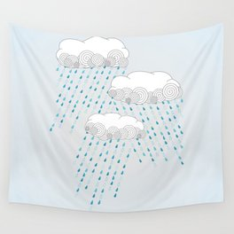 Rainy Days Wall Tapestry