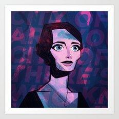 Mia Art Print