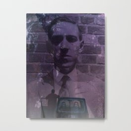 Color Out of Lovecraft Metal Print