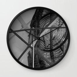 Lighthouse B&W Wall Clock