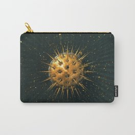 Abstract Dark Sphere Carry-All Pouch