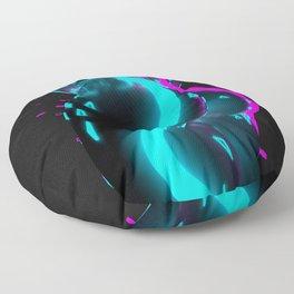 Neon Dream On Floor Pillow