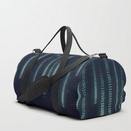Nerd binary code Duffle Bag