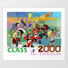 IHS Class of 2000 Art Print
