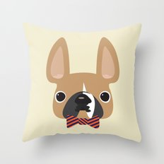 This is Brix, Too. Throw Pillow