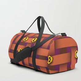 Smartcash Print Duffle Bag