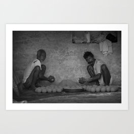 Laddu Art Print