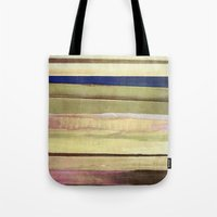 striped Tote Bags featuring striped by Iris Lehnhardt