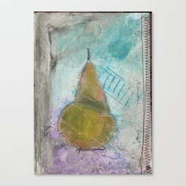 The Last Winter Pear Canvas Print