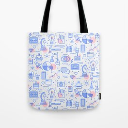 The fans pattern Tote Bag