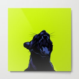 The Black Panther Metal Print