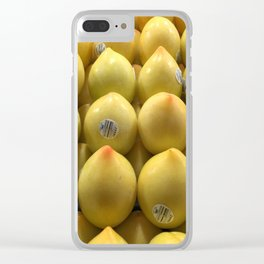 Egg Fruit - Nice ! Clear iPhone Case