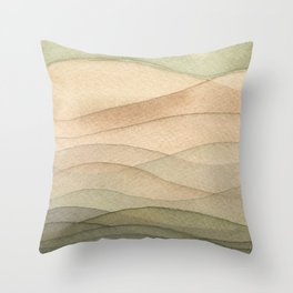 #42. DANIEL - Hills Throw Pillow