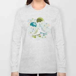 Roller Derby Rumble Long Sleeve T-shirt