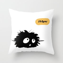 Sixtine is coming Throw Pillow