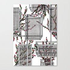 geo spring Canvas Print