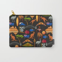 Australia Pattern Carry-All Pouch