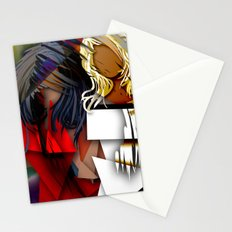 Cubist BFF's Stationery Cards
