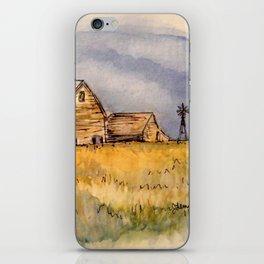 Barns and Windmill iPhone Skin