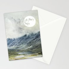 Supermoon in Norway Stationery Cards
