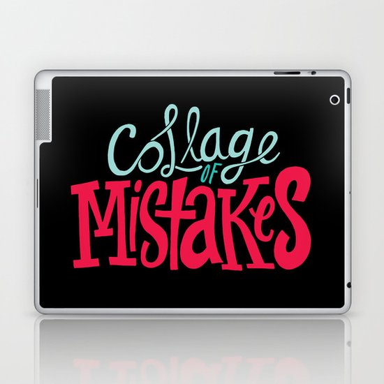 Collage of Mistakes Laptop & iPad Skin